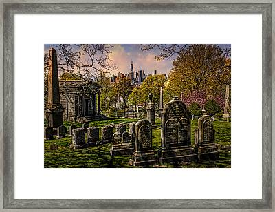 New York From City To City Framed Print by Chris Lord