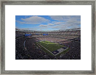 New York Giants Framed Print