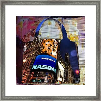 New York Handbag Framed Print