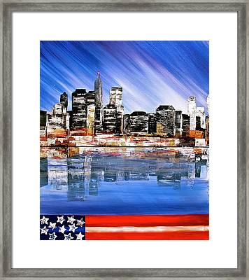 New York Framed Print by Heather Matthews