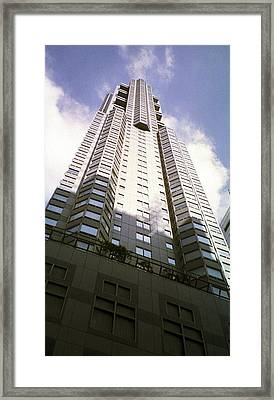 New York High Rise Framed Print