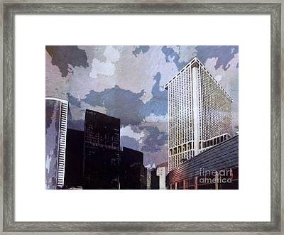 New York Impression Framed Print by Lutz Baar