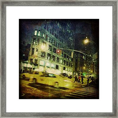 New York Framed Print by Jeff Klingler
