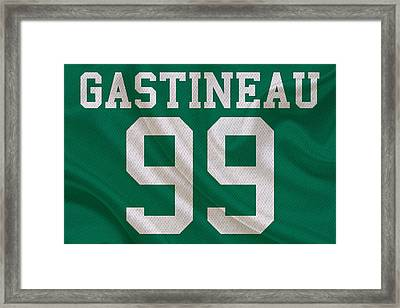 New York Jets Mark Gastineau Framed Print