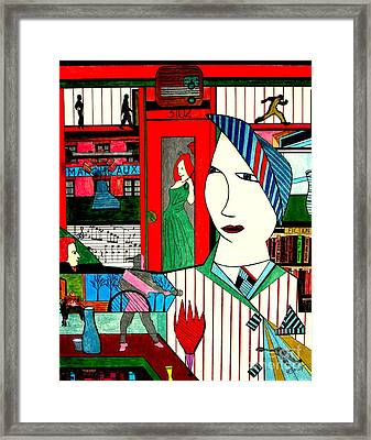 New York Life Framed Print