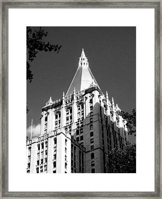New York Life Insurance Tower Framed Print