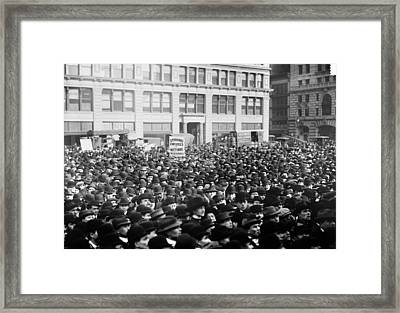 New York May Day, 1913 Framed Print by Granger
