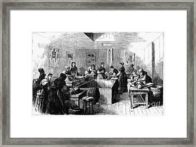 New York: Medical College Framed Print by Granger