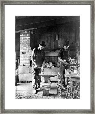 New York Metalsmiths Framed Print by Granger