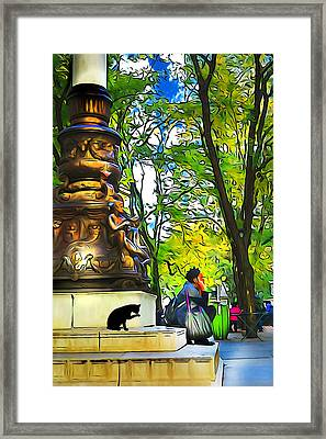 New York Moment Framed Print by Cornelia Trahan