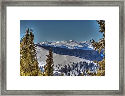 New York Mountain Co Framed Print