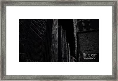 New York Framed Print by Nancie DeMellia