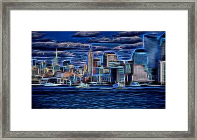 New York New York  Framed Print by Dan Sproul