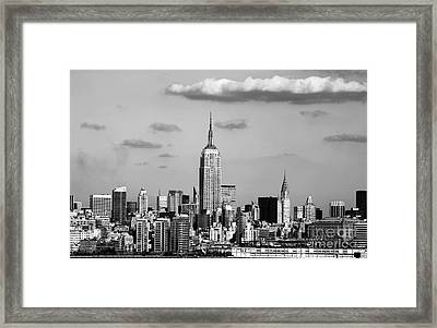 New York New York Framed Print by John Rizzuto