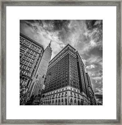 New York New York Framed Print by Shari Mattox