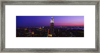 New York Ny Framed Print