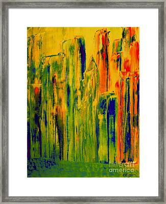 New York On A Hot June Morning Framed Print