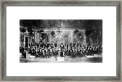 New York Orchestra, C1915 Framed Print by Granger