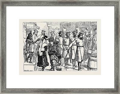 New York Police, 1870 Framed Print by American School