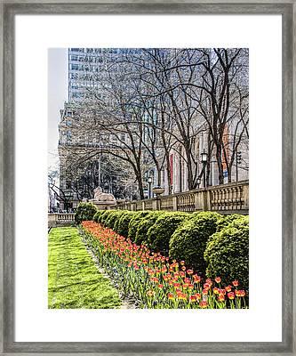 New York Public Library Framed Print