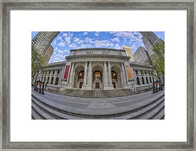 New York Public Library - Nypl Framed Print