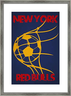 New York Red Bulls Goal Framed Print by Joe Hamilton