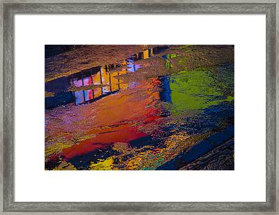 New York Reflections Framed Print by Garry Gay