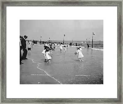 New York Rockaway, C1904 Framed Print by Granger