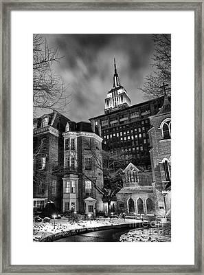 New York Scene Framed Print