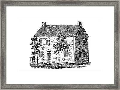 New York Senate, 1777 Framed Print