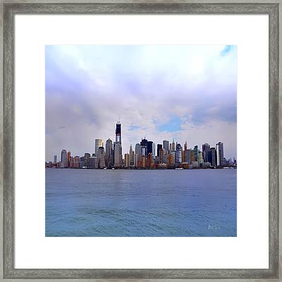 New York - Standing Tall Framed Print by Bill Cannon