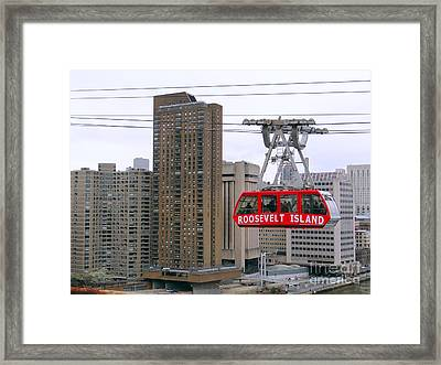 New York State Of Mind Framed Print by Ed Weidman