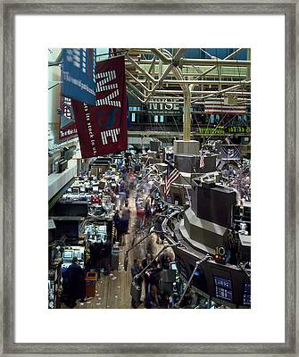 New York Stock Exchange Framed Print by Mountain Dreams