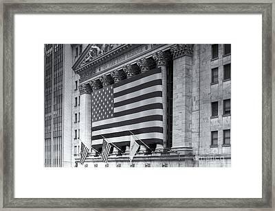 New York Stock Exchange Iv Framed Print