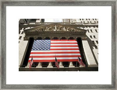 New York Stock Exchange Framed Print by Jim West