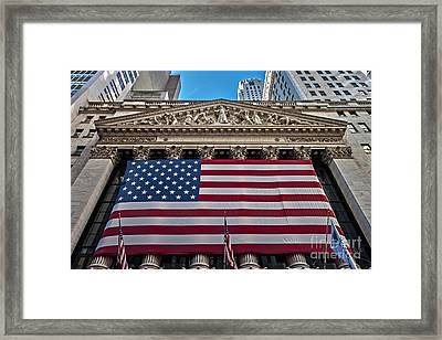 New York Stock Exchange Framed Print