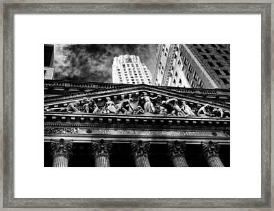 New York Stock Exchange Framed Print by Jose Maciel