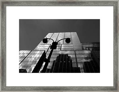 New York Streets 2 Framed Print