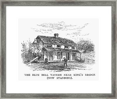New York: Tavern, C1725 Framed Print by Granger