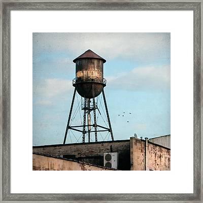 New York Water Tower 7 Framed Print