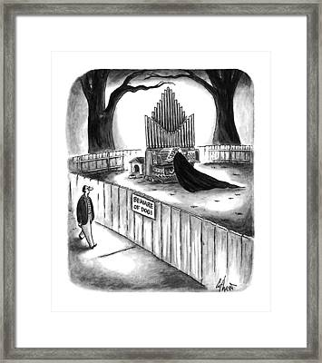 New Yorker April 10th, 1995 Framed Print by Frank Cotham