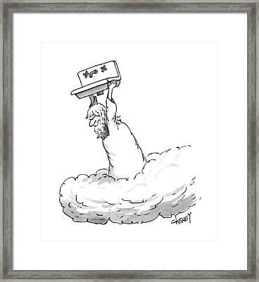 New Yorker April 10th, 1995 Framed Print