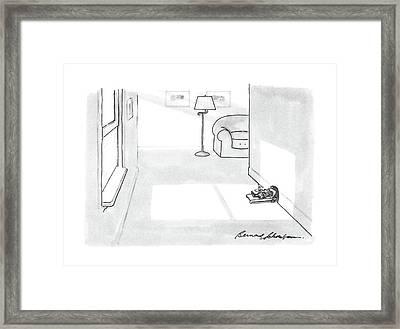 New Yorker April 11th, 1988 Framed Print by Bernard Schoenbaum