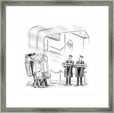 New Yorker April 11th, 1988 Framed Print by Ed Fisher