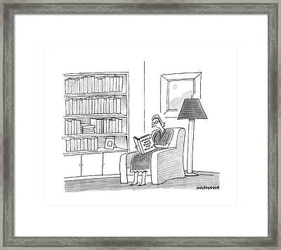 New Yorker April 11th, 1988 Framed Print