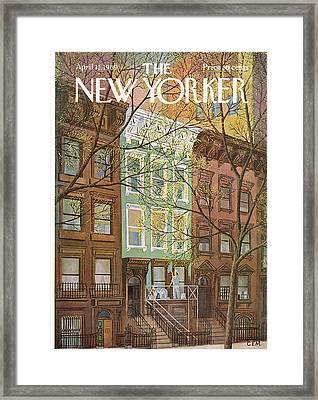 New Yorker April 12th, 1969 Framed Print