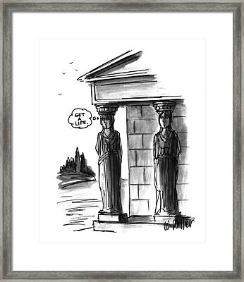 New Yorker April 12th, 1993 Framed Print