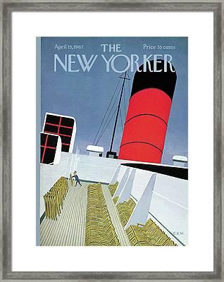 New Yorker April 15th, 1967 Framed Print