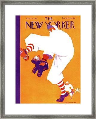 New Yorker April 18th, 1931 Framed Print by Charles Donelan