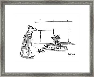 New Yorker April 19th, 1993 Framed Print by Dean Vietor